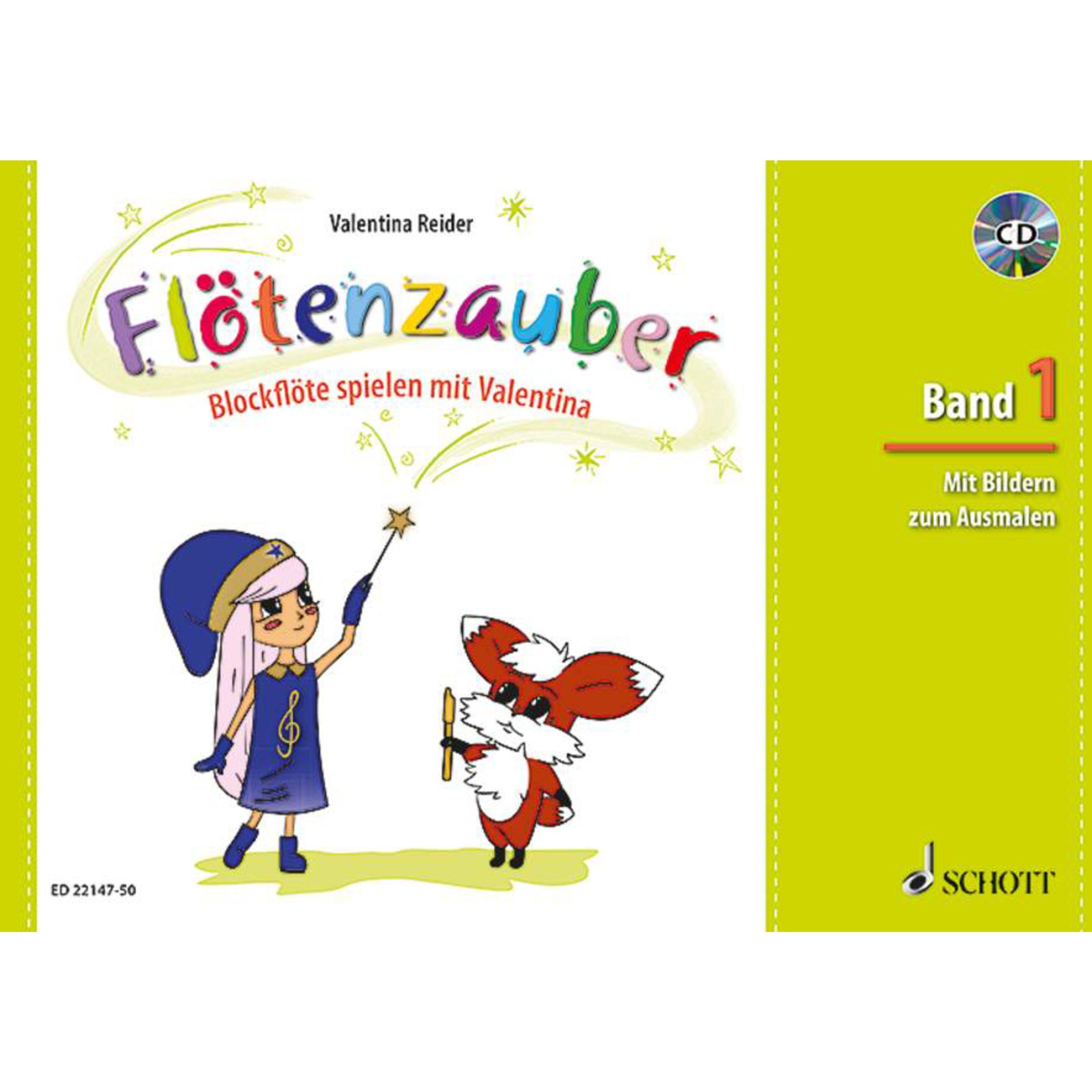 Schott Music - Flötenzauber 1 mit CD ED 22147-50