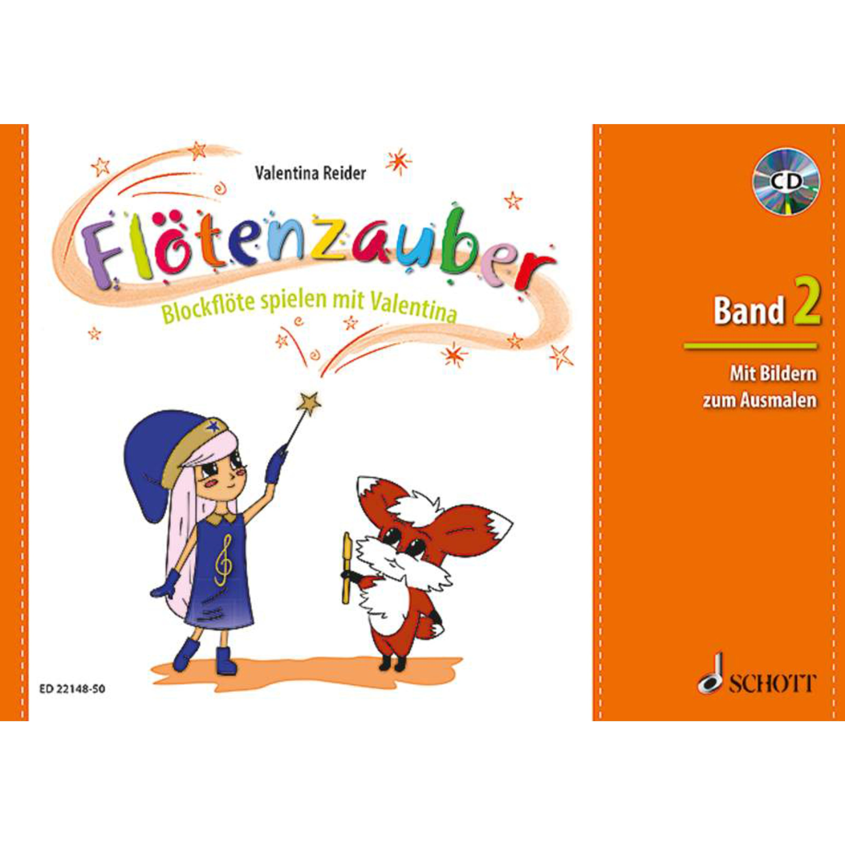Schott Music - Flötenzauber 2 mit CD ED 22148-50