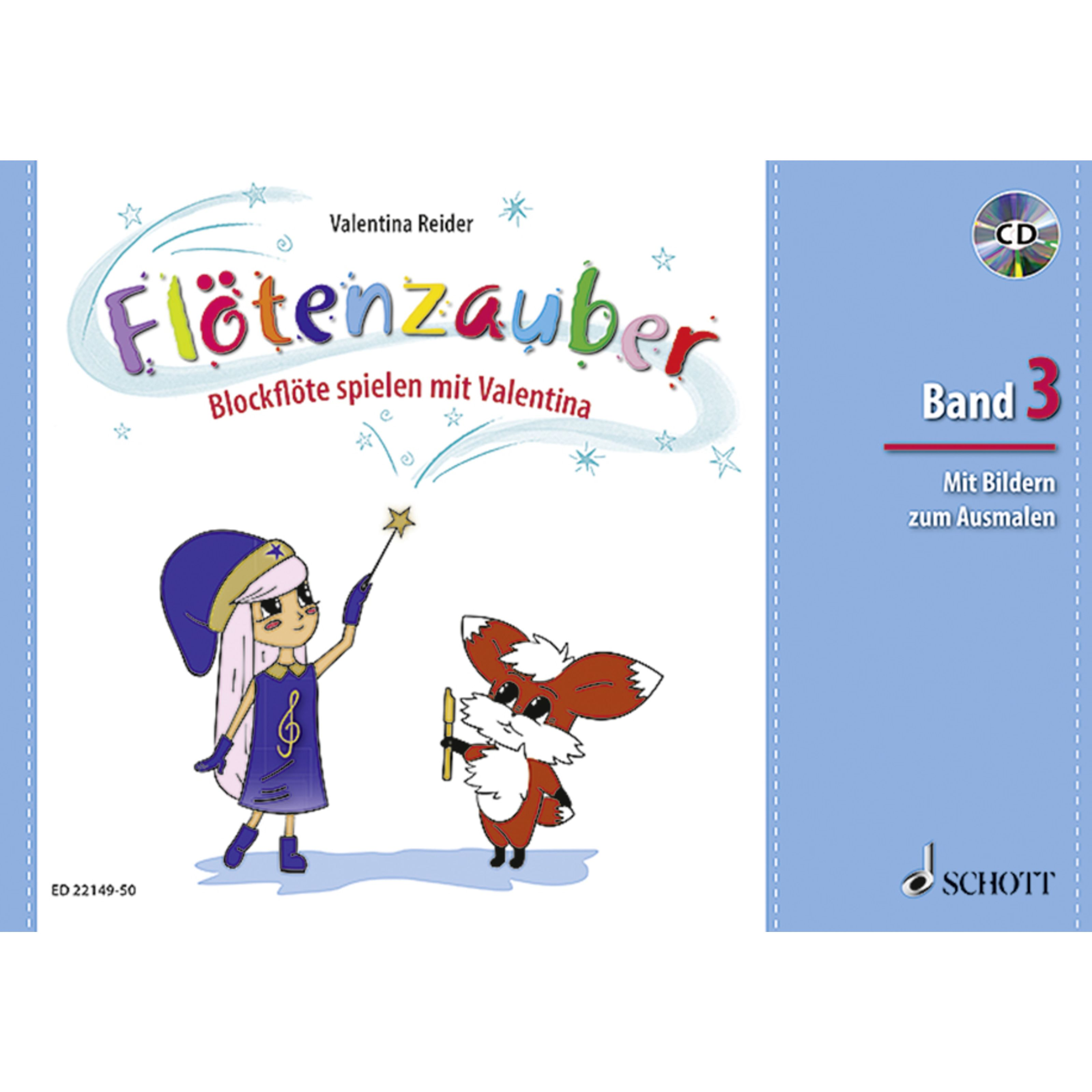 Schott Music - Flötenzauber 3 mit CD ED 22149-50