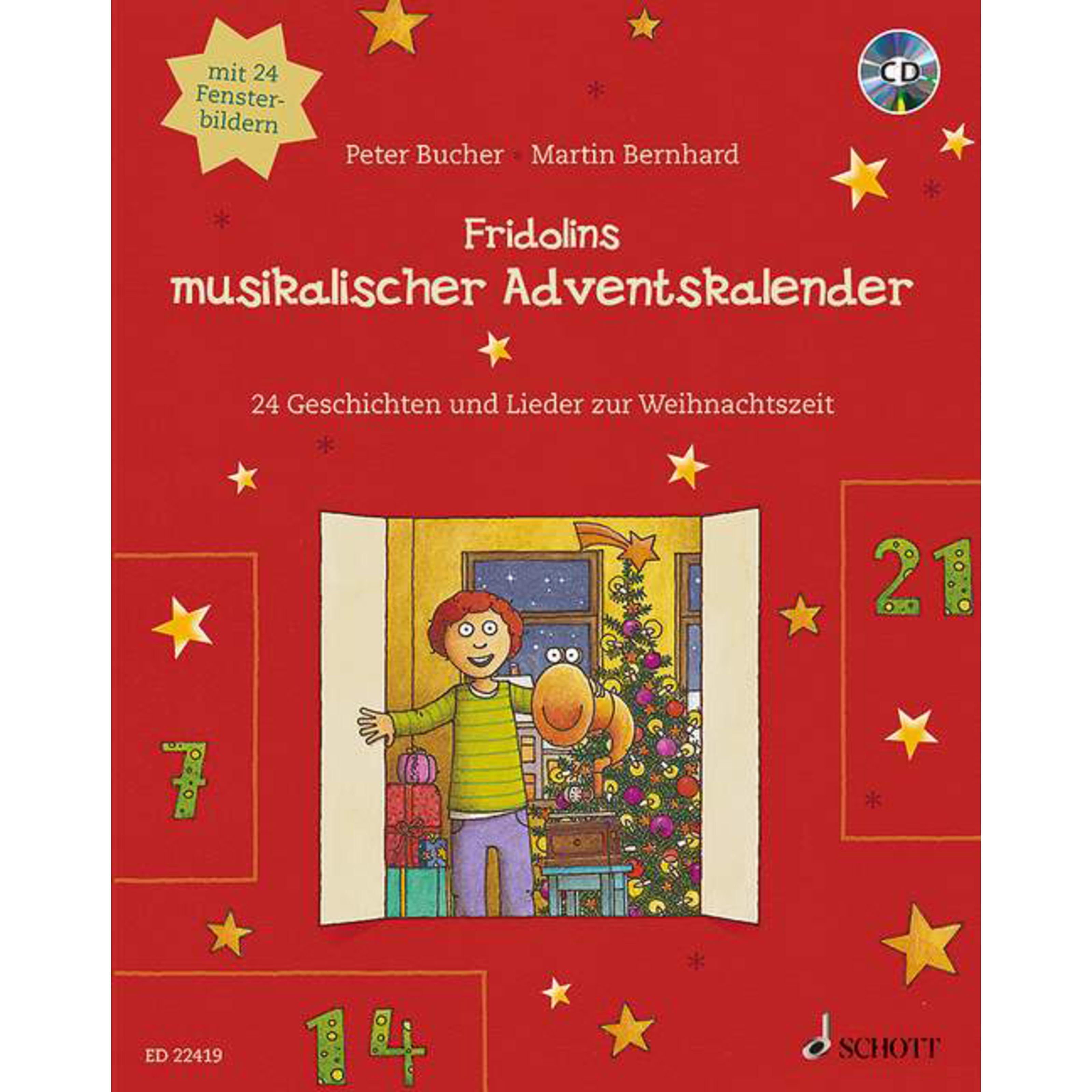 Schott Music - Fridolins musikalischer Adventskalender ED 22419
