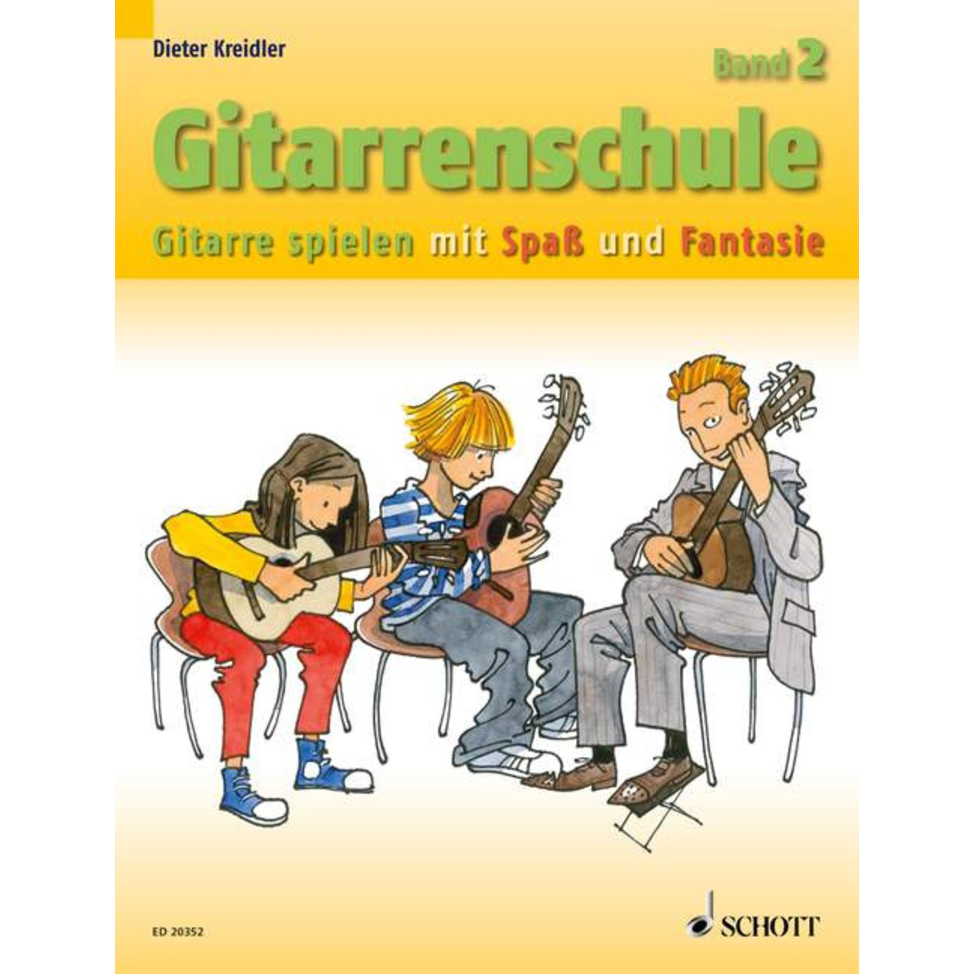 Schott Music - Gitarrenschule 2 D.Kreidler,Neufassung ED 20352