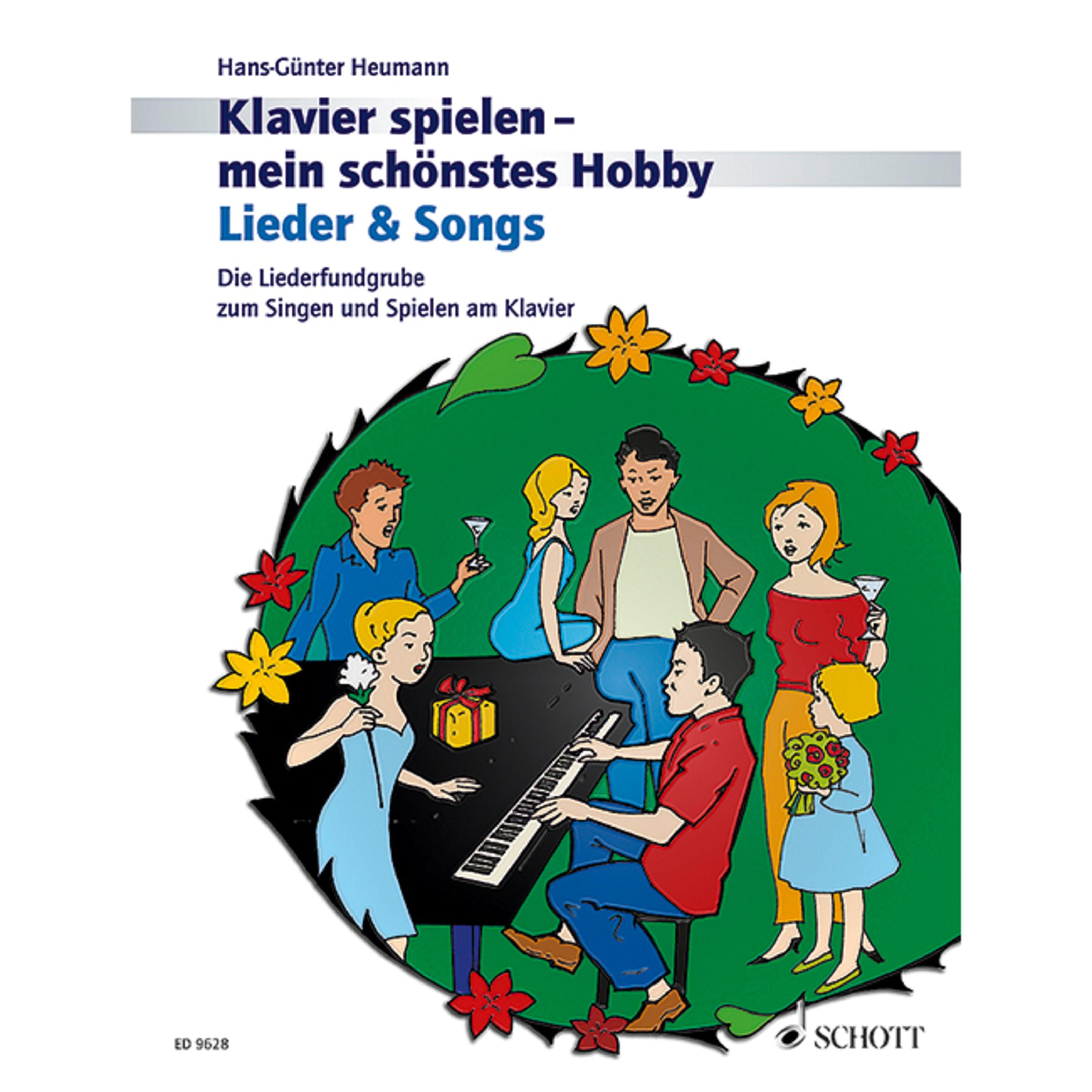 Schott Music - Lieder und Songs Heumann, Klavier mein Hobby ED 9628