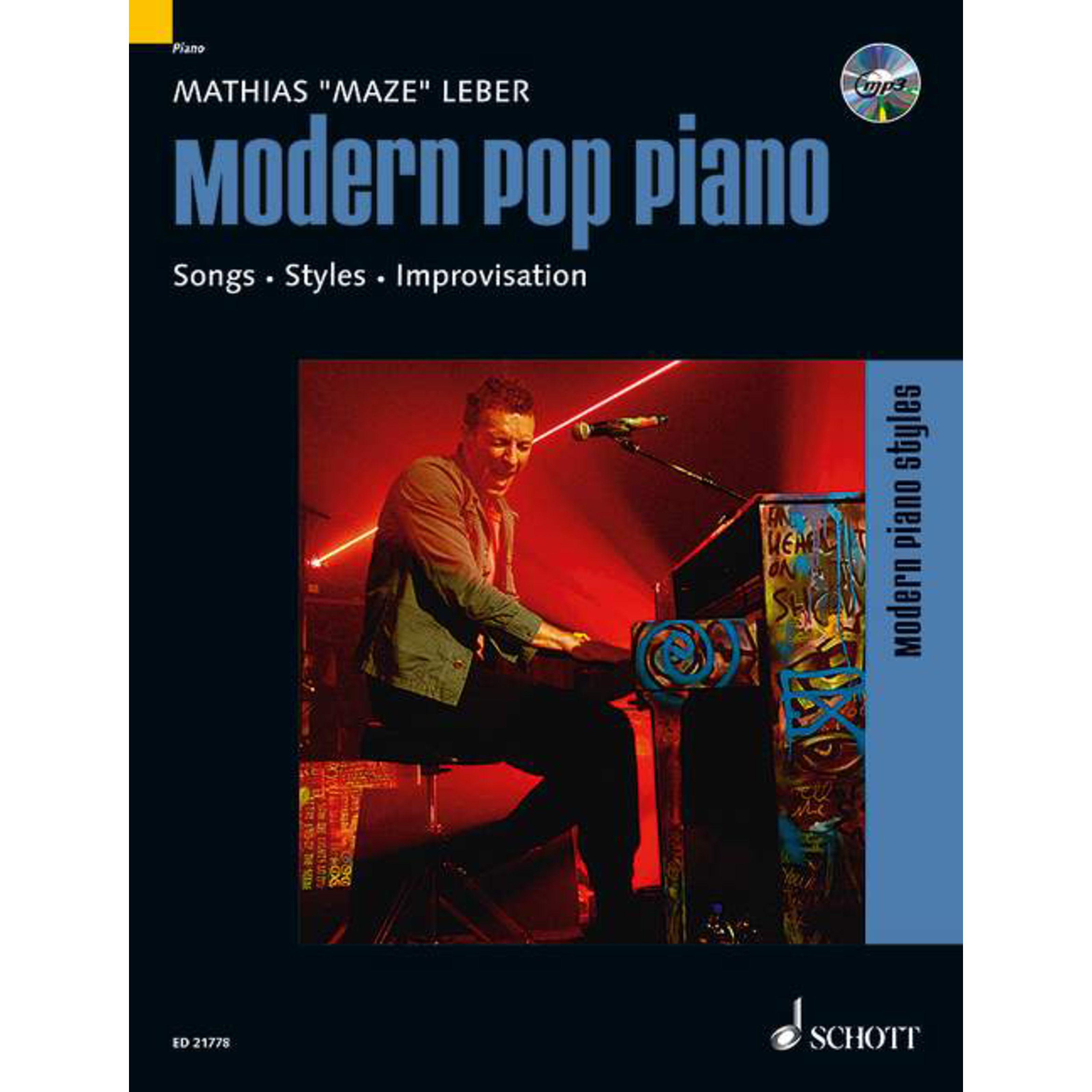 Schott Music - Modern Pop Piano Matthias Leber ED 21778