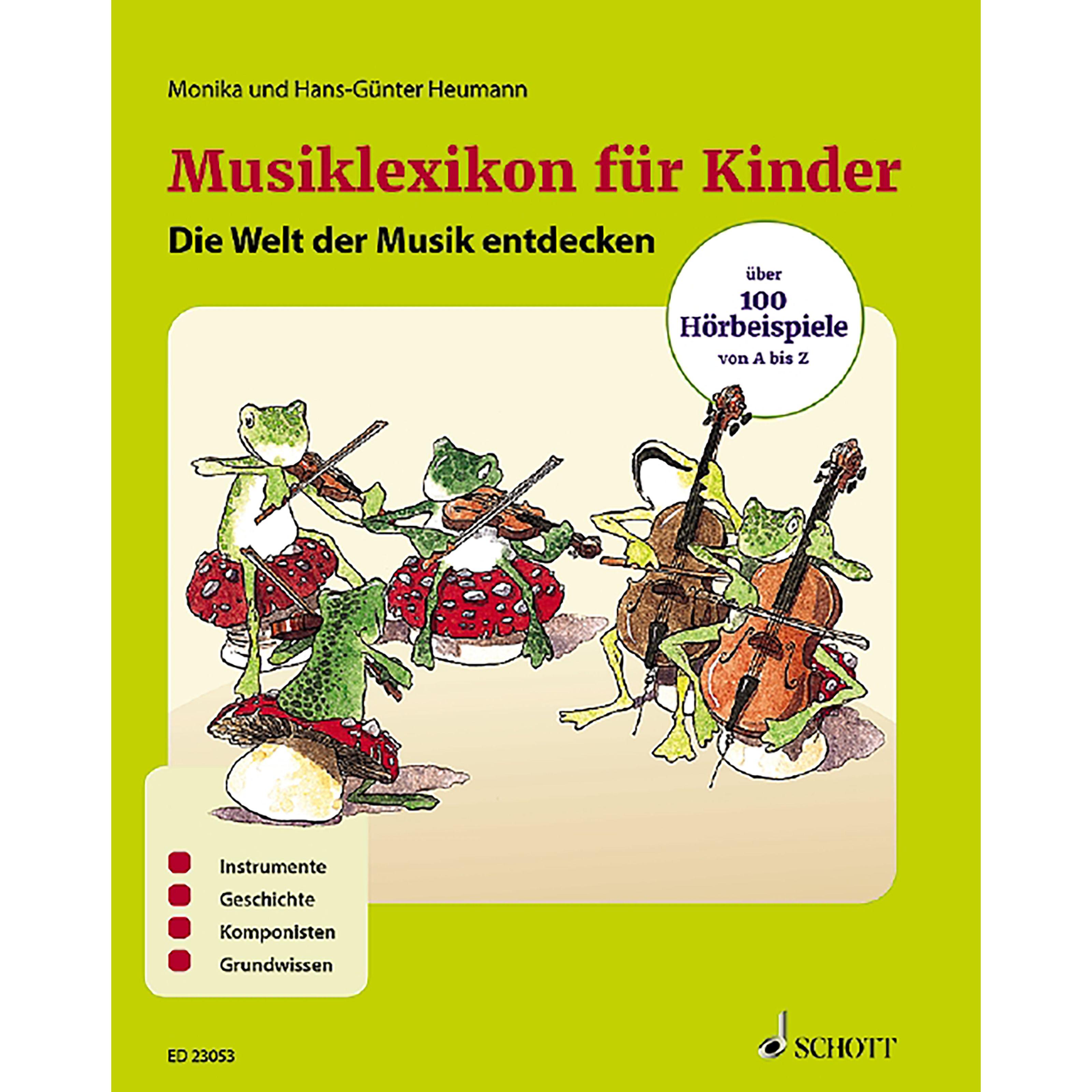 Schott Music - Musiklexikon für Kinder