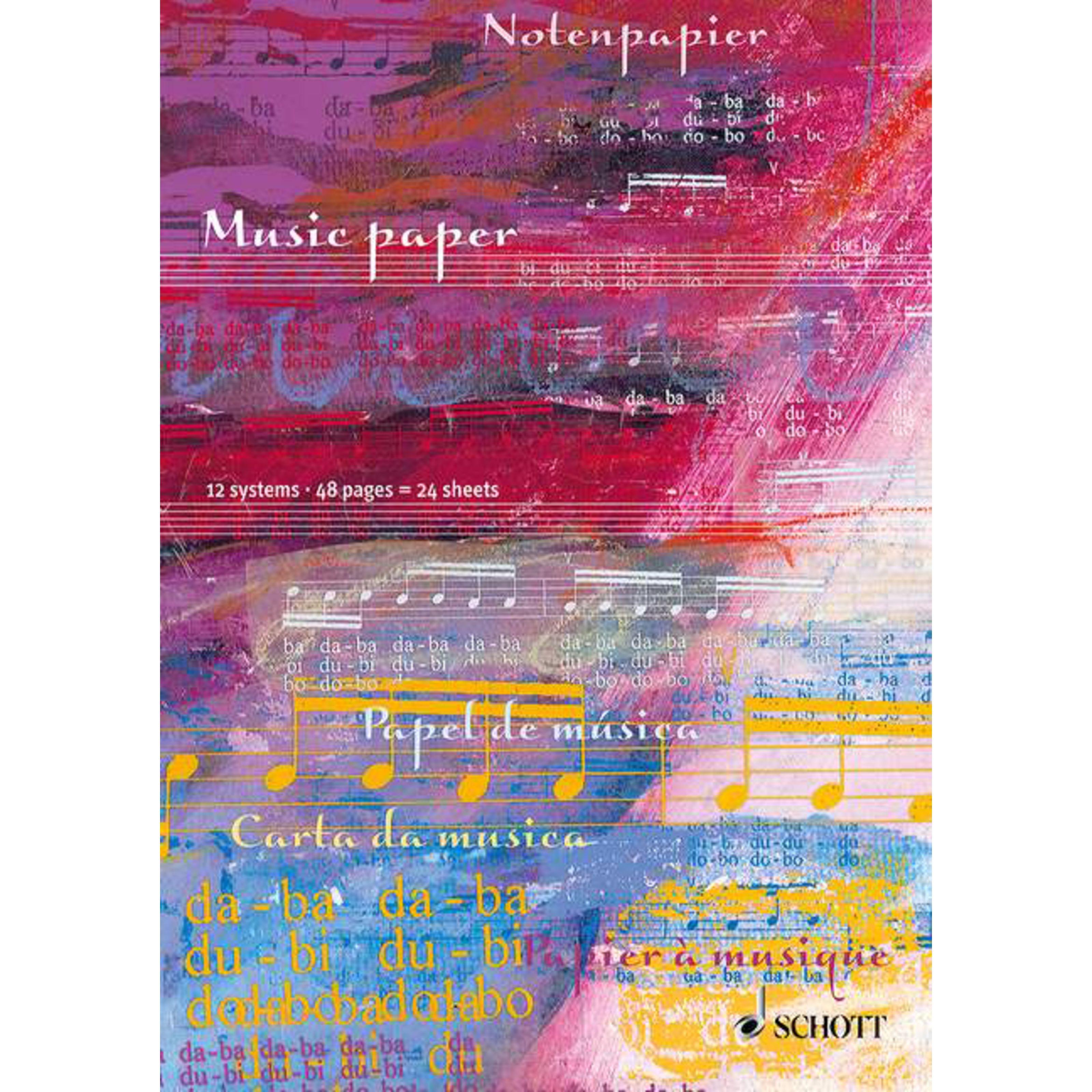 Schott Music - Notenheft DIN A4 SKK 51