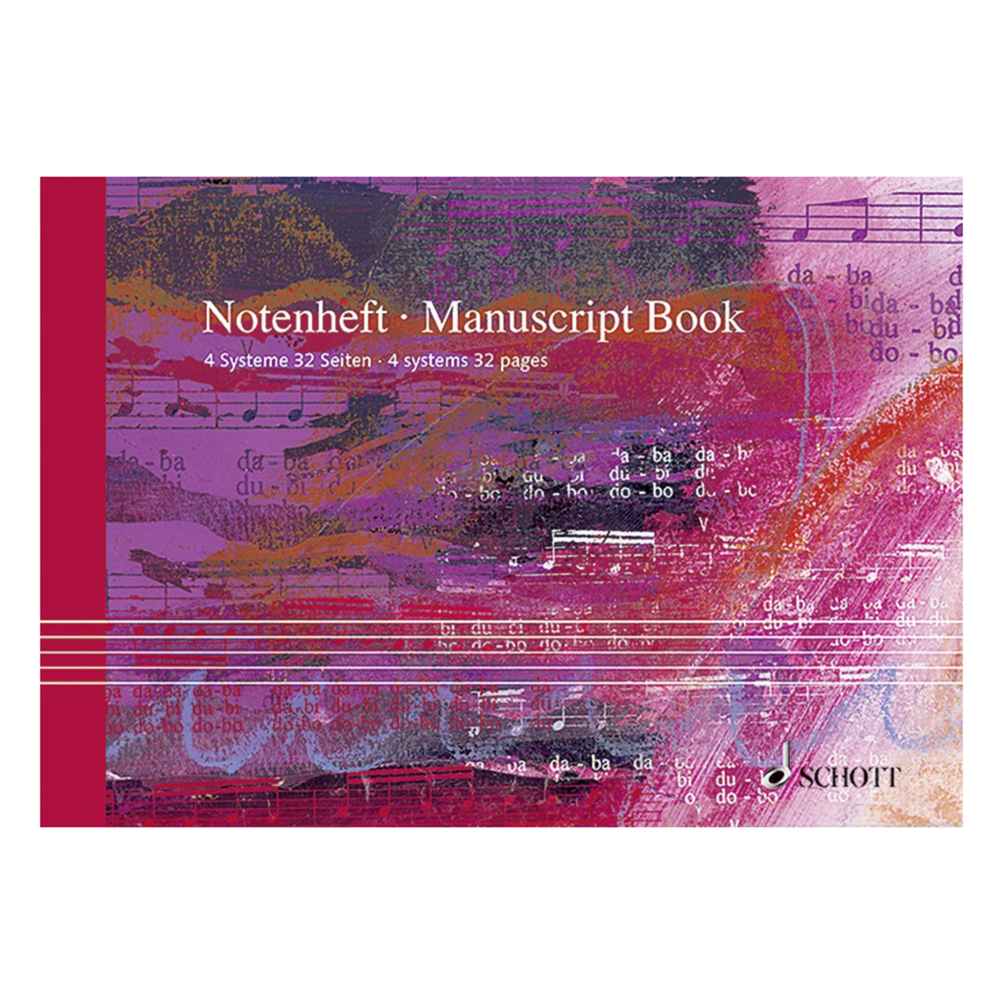 Schott Music - Notenheft DIN A5 SKK 53