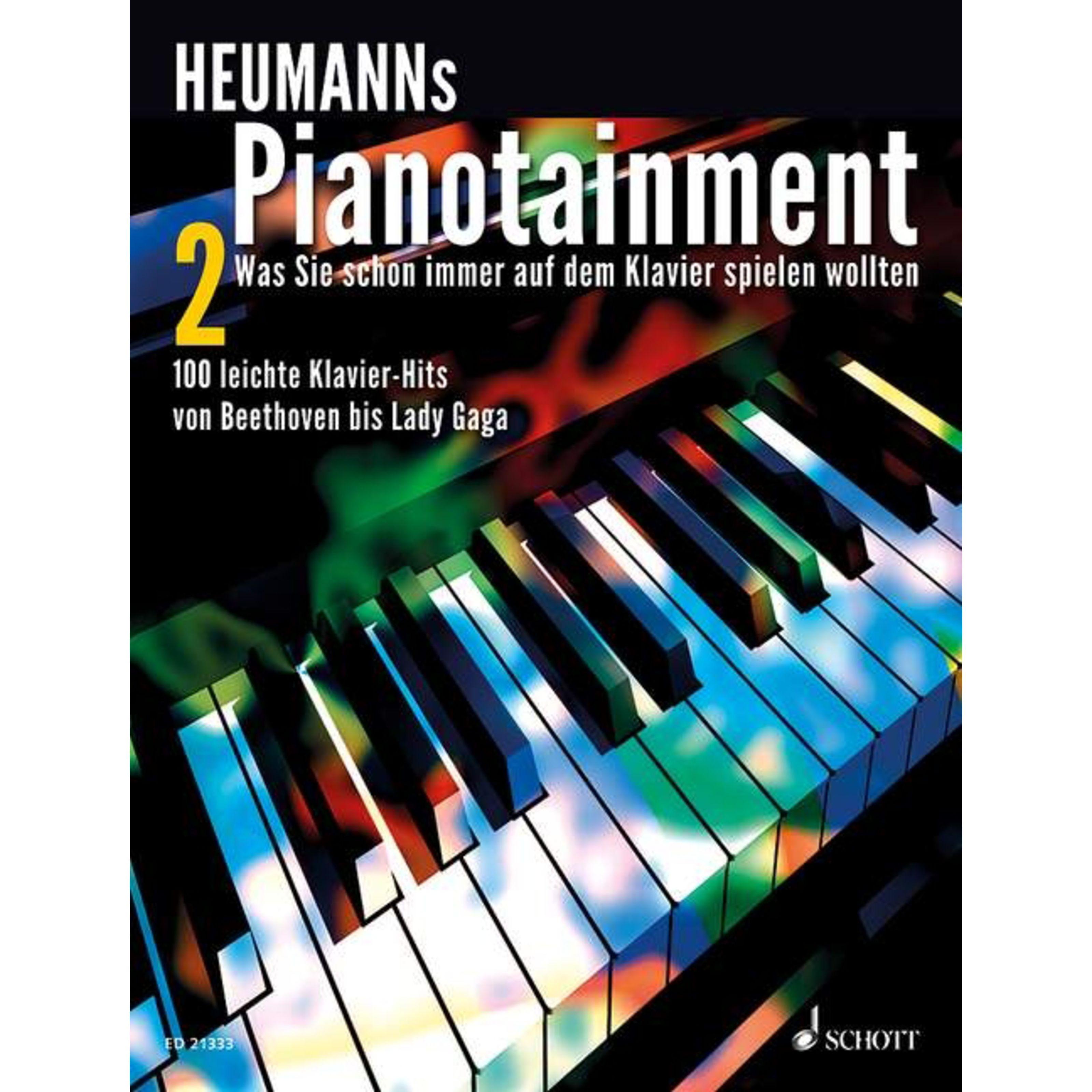Schott Music - Pianotainment 2 Heumann, Klavier ED 21333