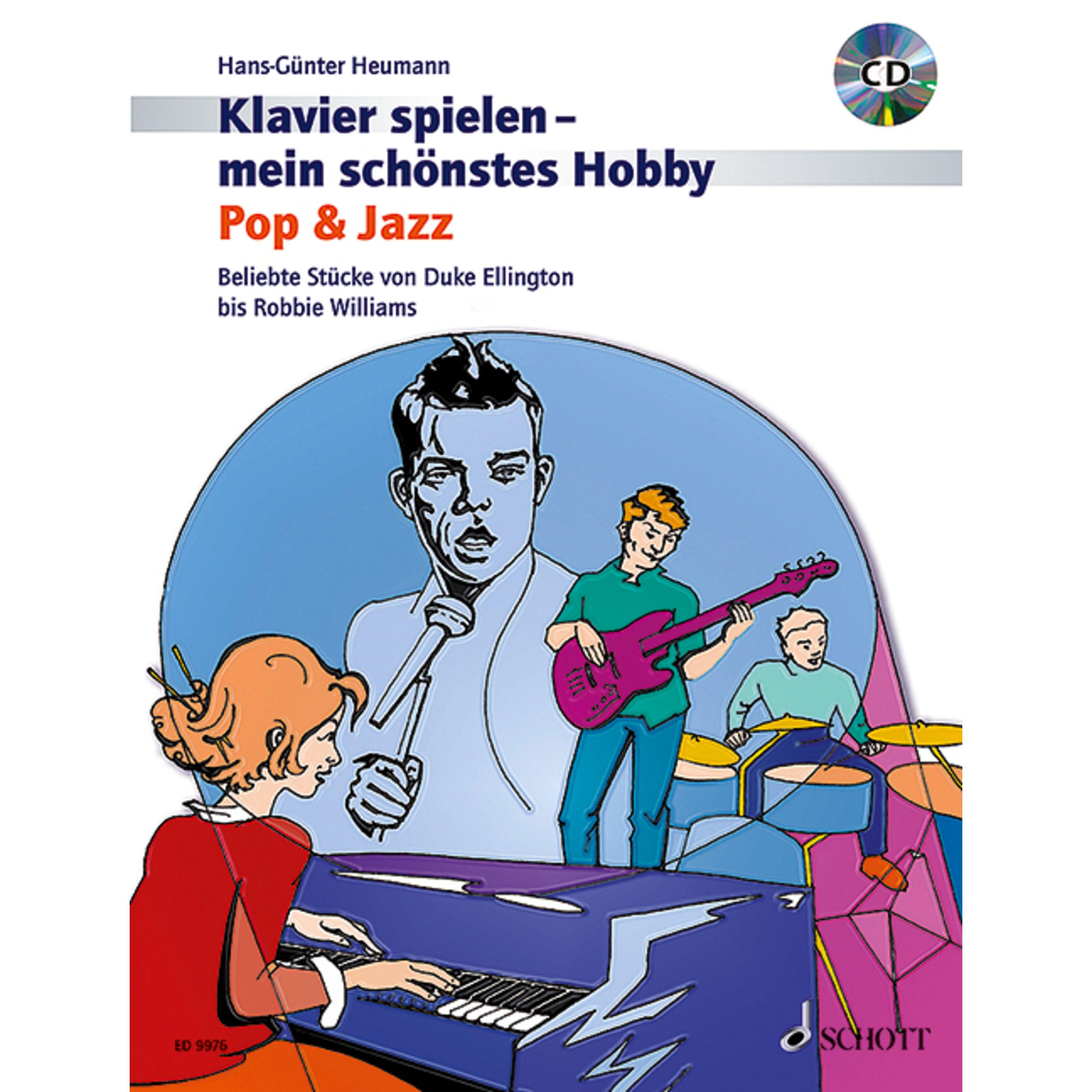 Schott Music - Pop & Jazz Heumann, Klavier mein Hobby ED 9976