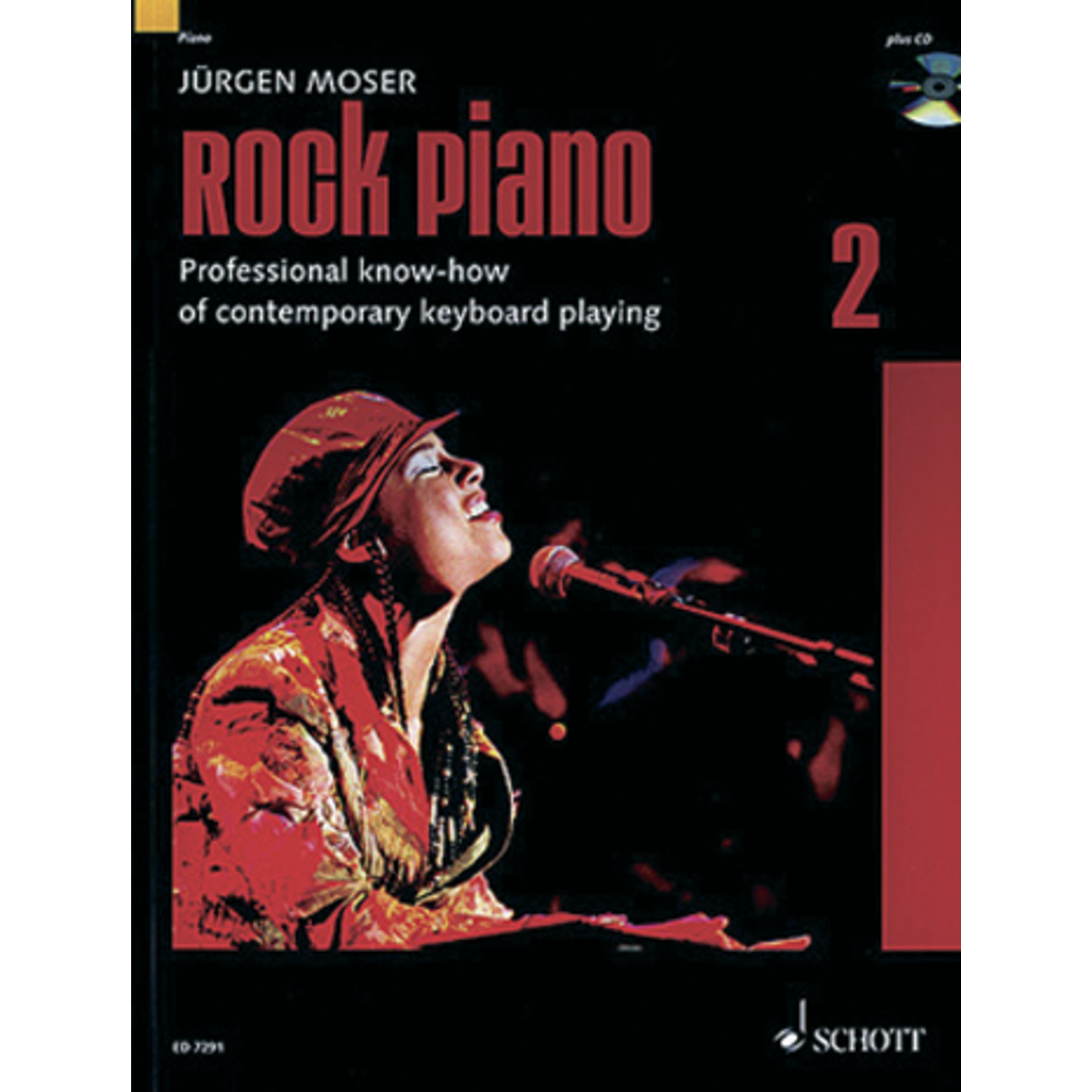 Schott Music - Rock Piano 2 Jürgen Moser,inkl. CD ED 7291