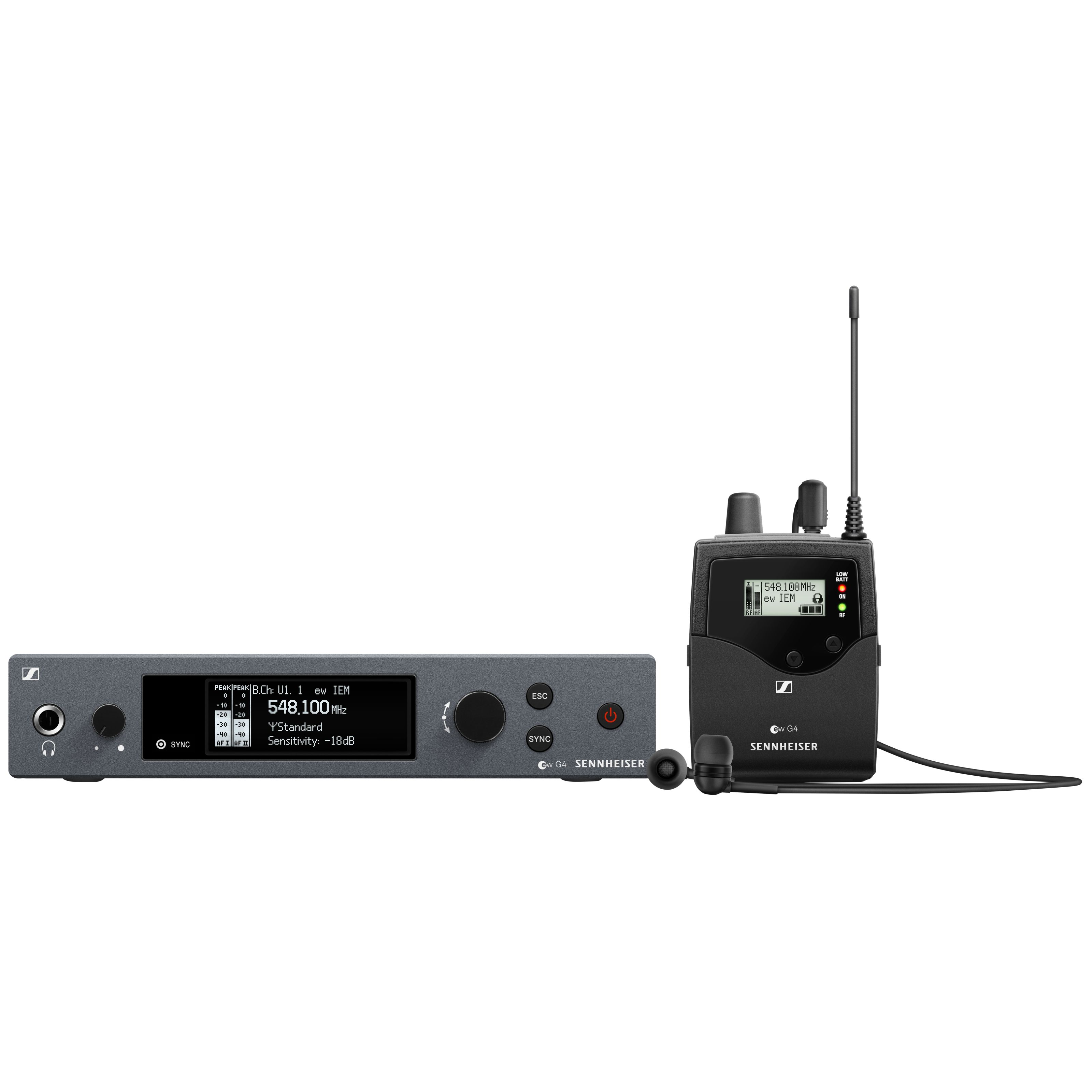 Sennheiser - ew IEM G4-E Wireless Monitor Set 507834