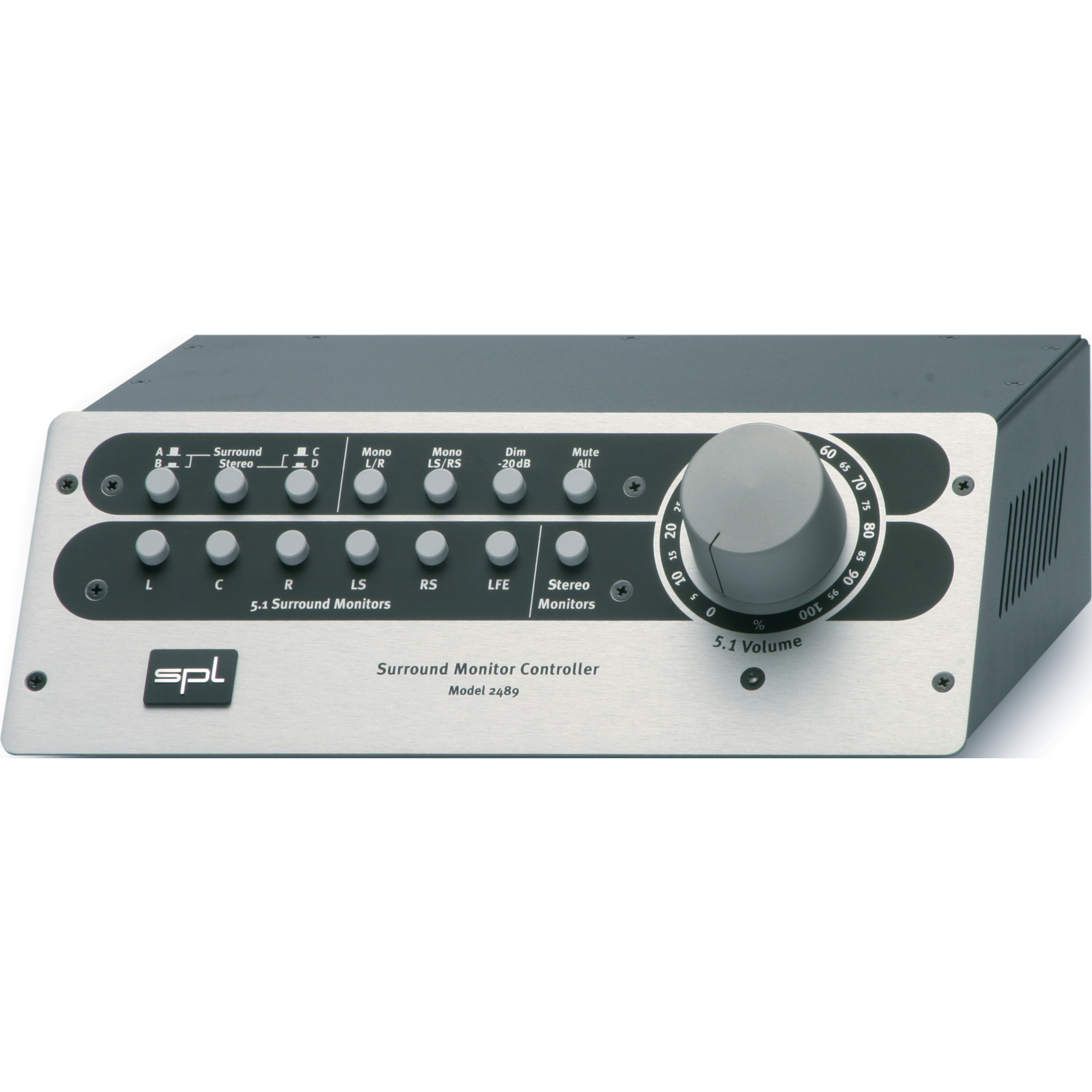 SPL Electronics - SMC Controller 5.1+Stereo In/Out 2489