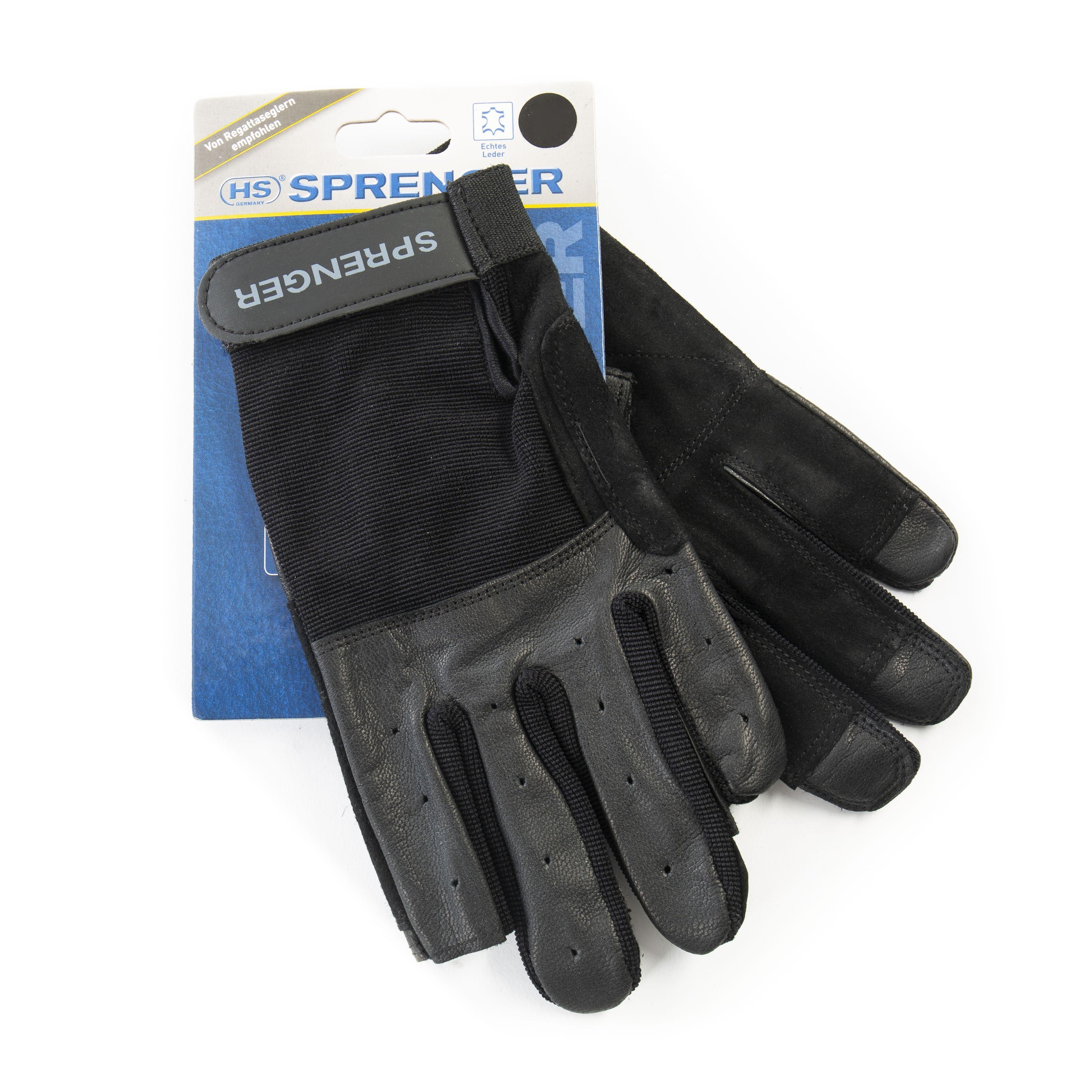 Sprenger - Rigging-Handschuhe L Black 531-0799-1010
