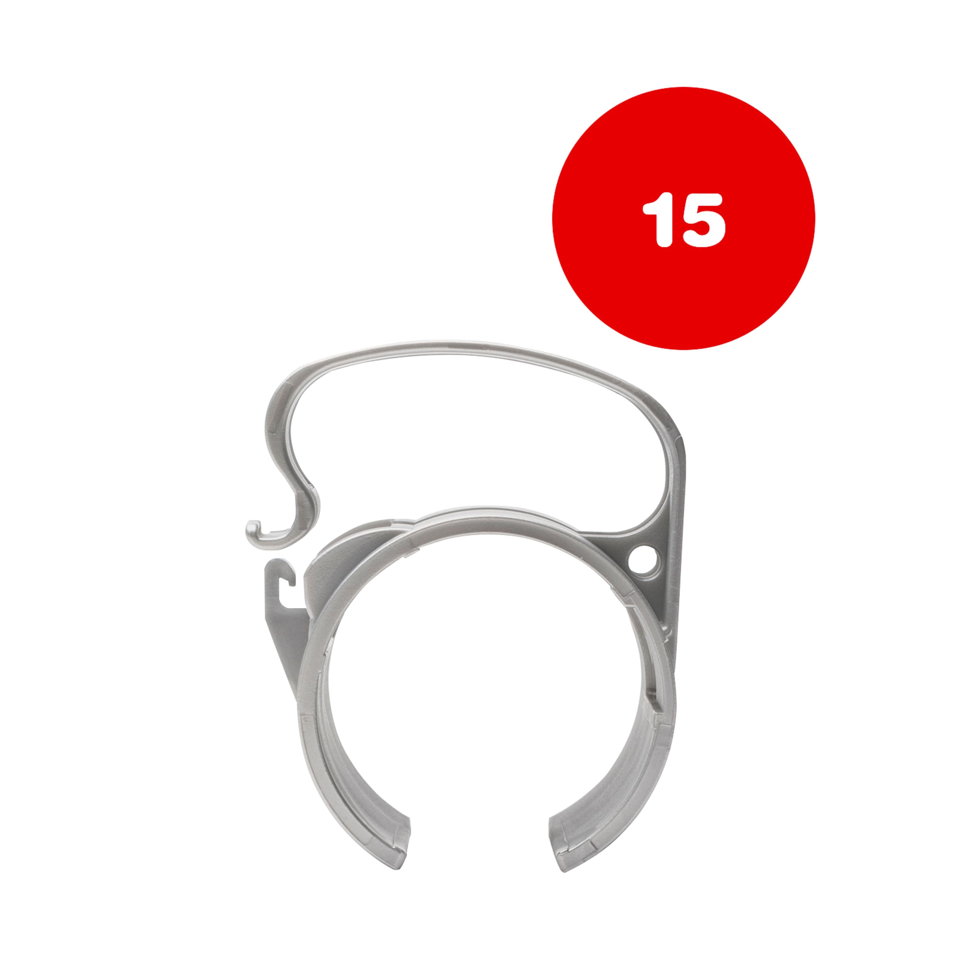 The Snap - Snap Light Silver 15-Piece 15er SNAP light silb