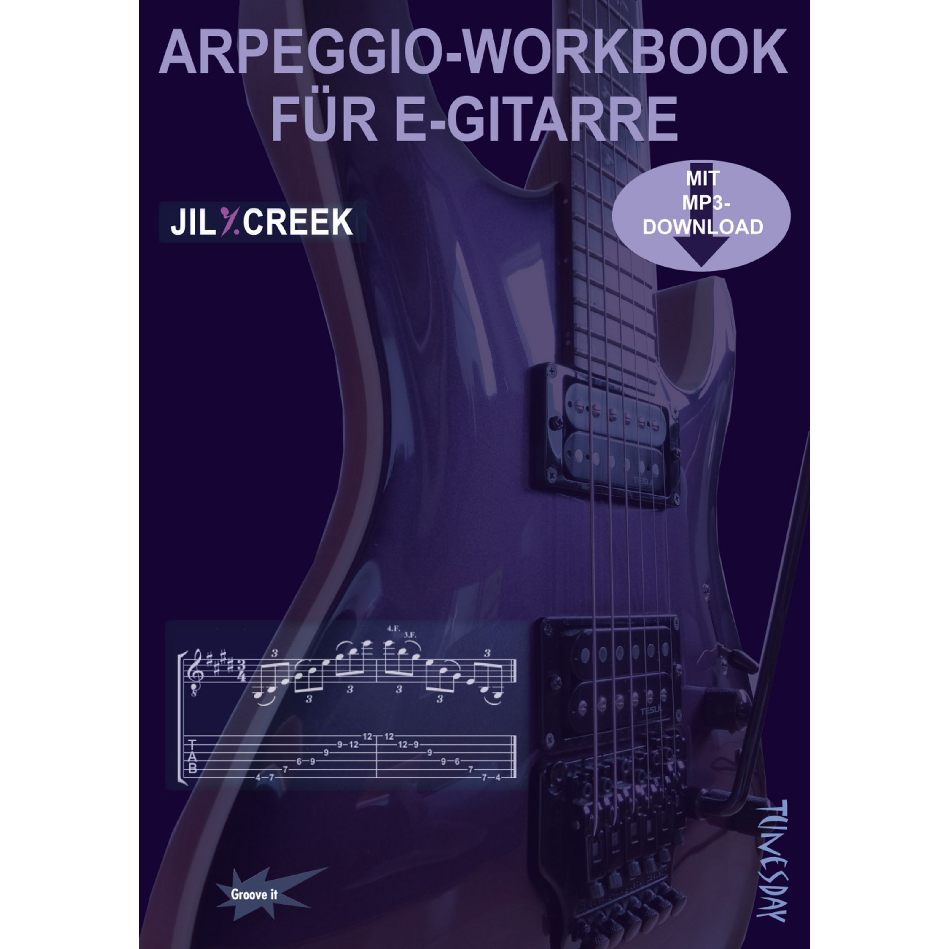 Tunesday - Arpeggio-Workbook für E-Gitarre TUN 36