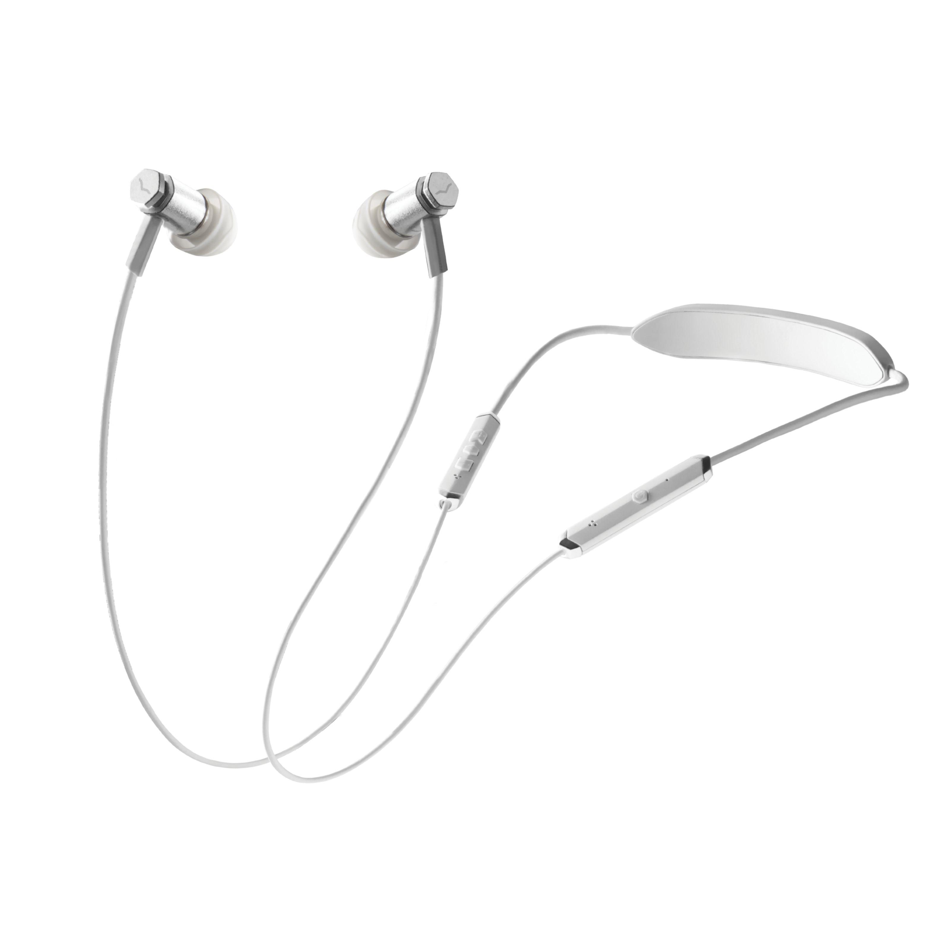 V-Moda - FORZA Wireless White Silver FRZM-W-WSILVER