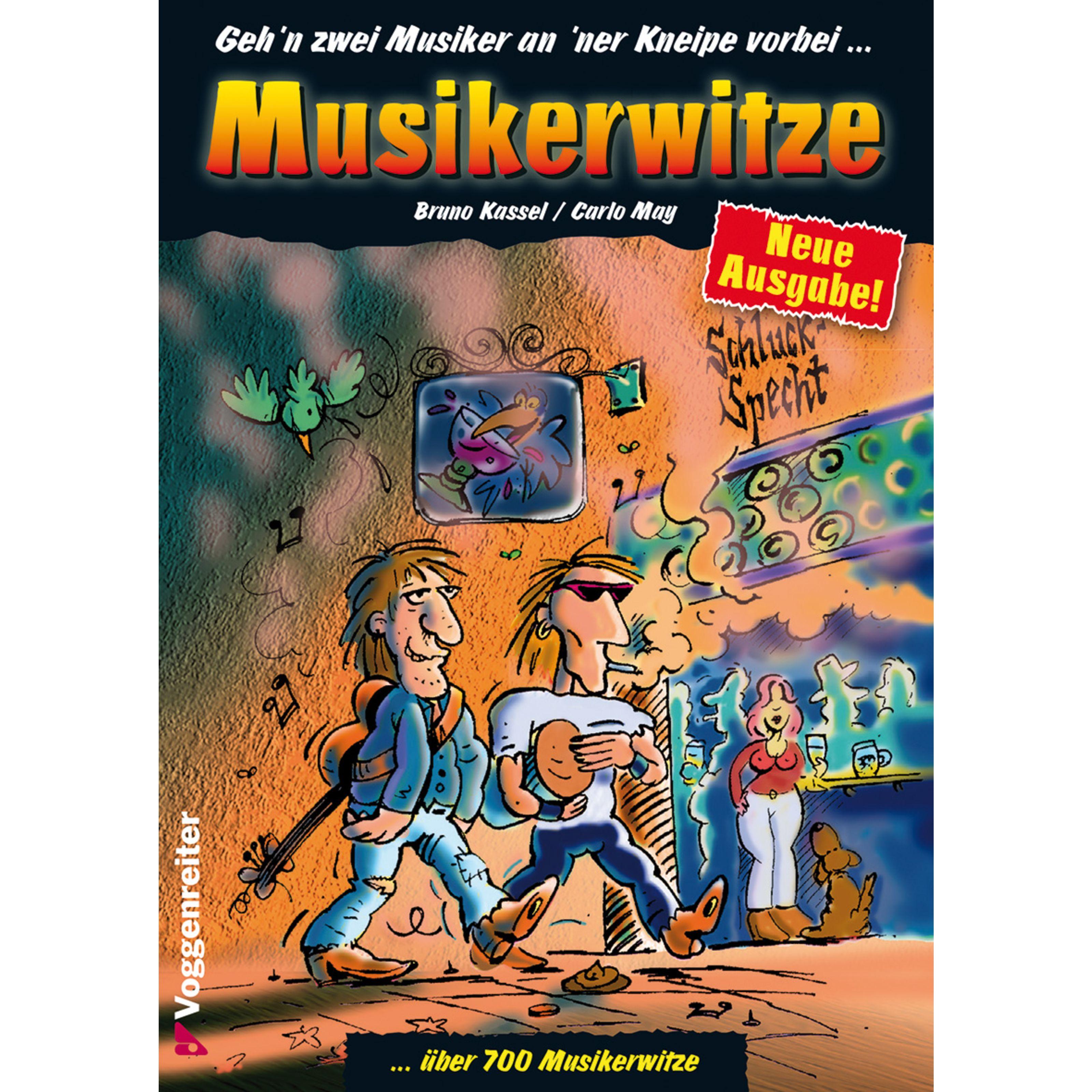 Voggenreiter - Musikerwitze Kassel / May, Geschenkartikel 0359-0