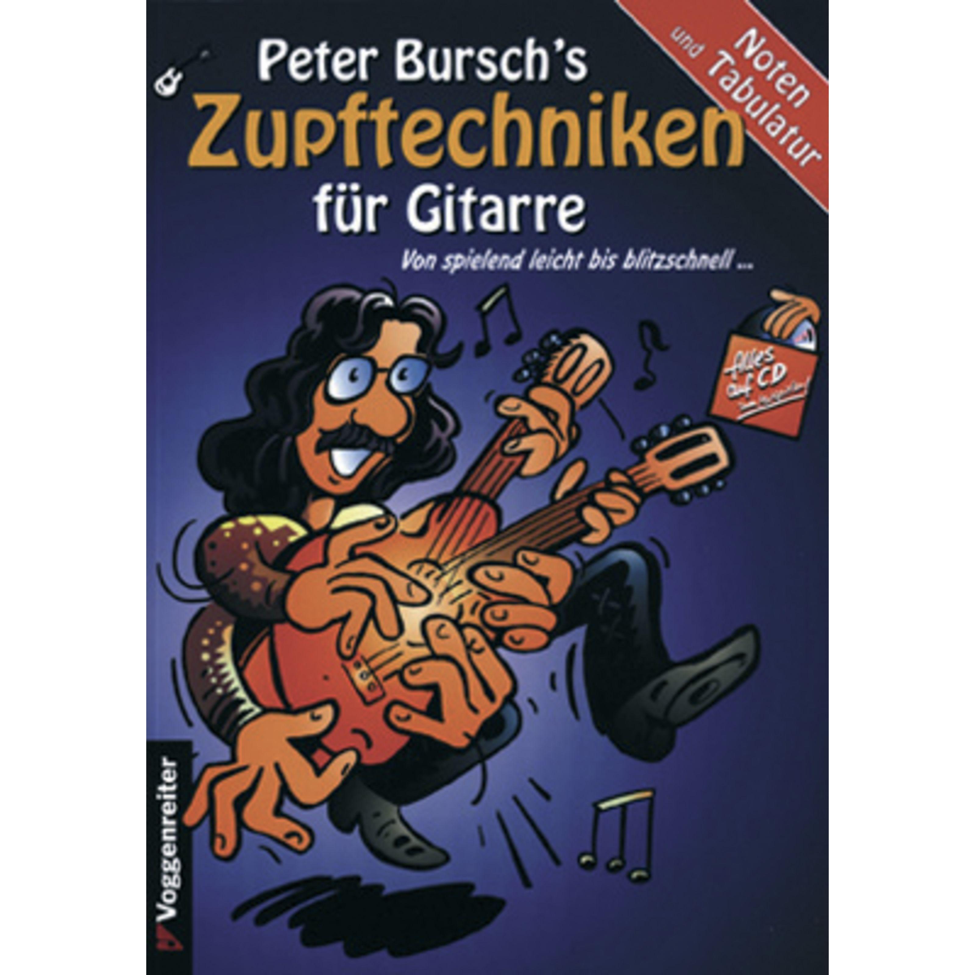 Voggenreiter - Peter Bursch´s Zupftechnikbuch 0385-9