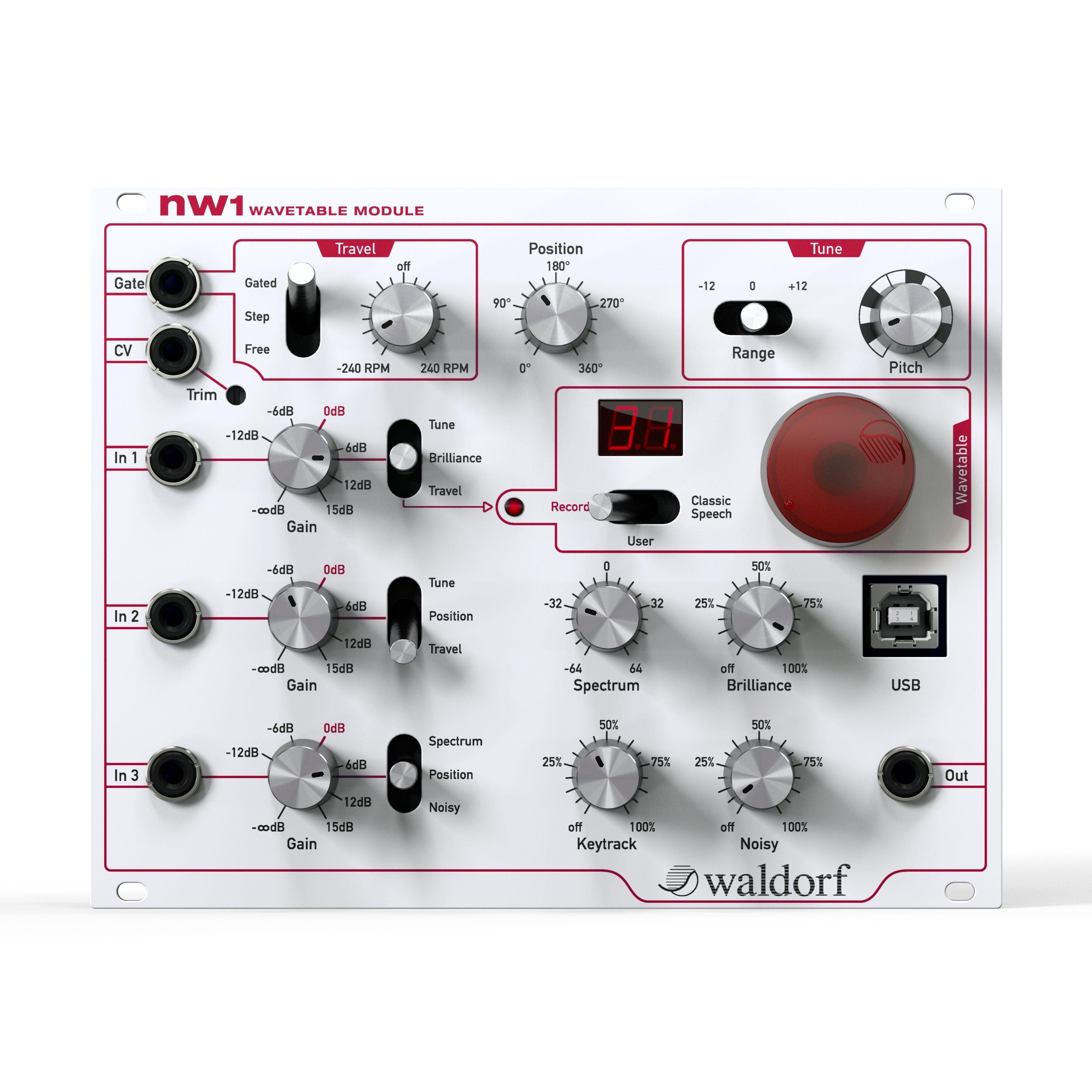 Waldorf - NW1 Modul