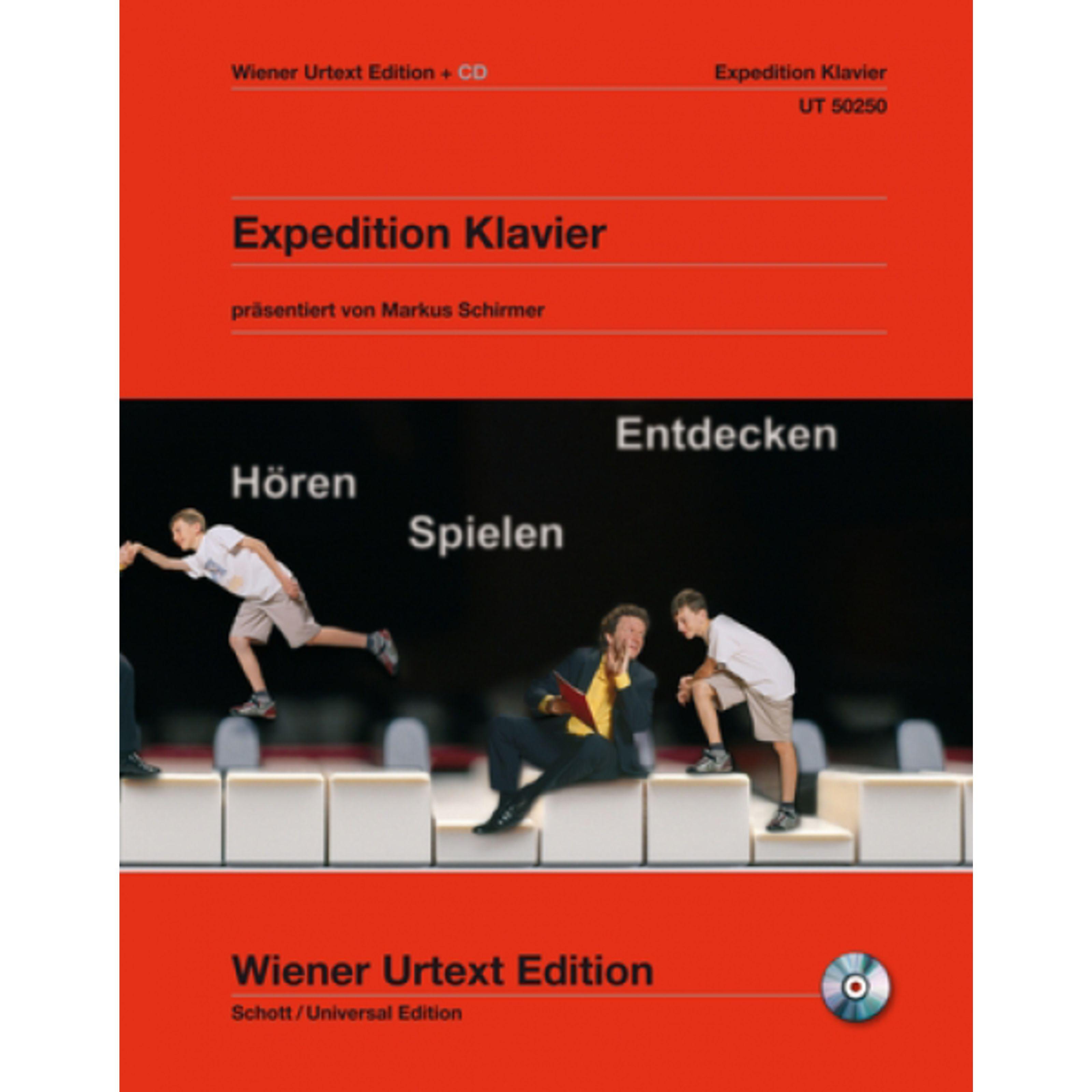 Wiener Urtext - Expedition Klavier Urtext Album mit CD UT 50250