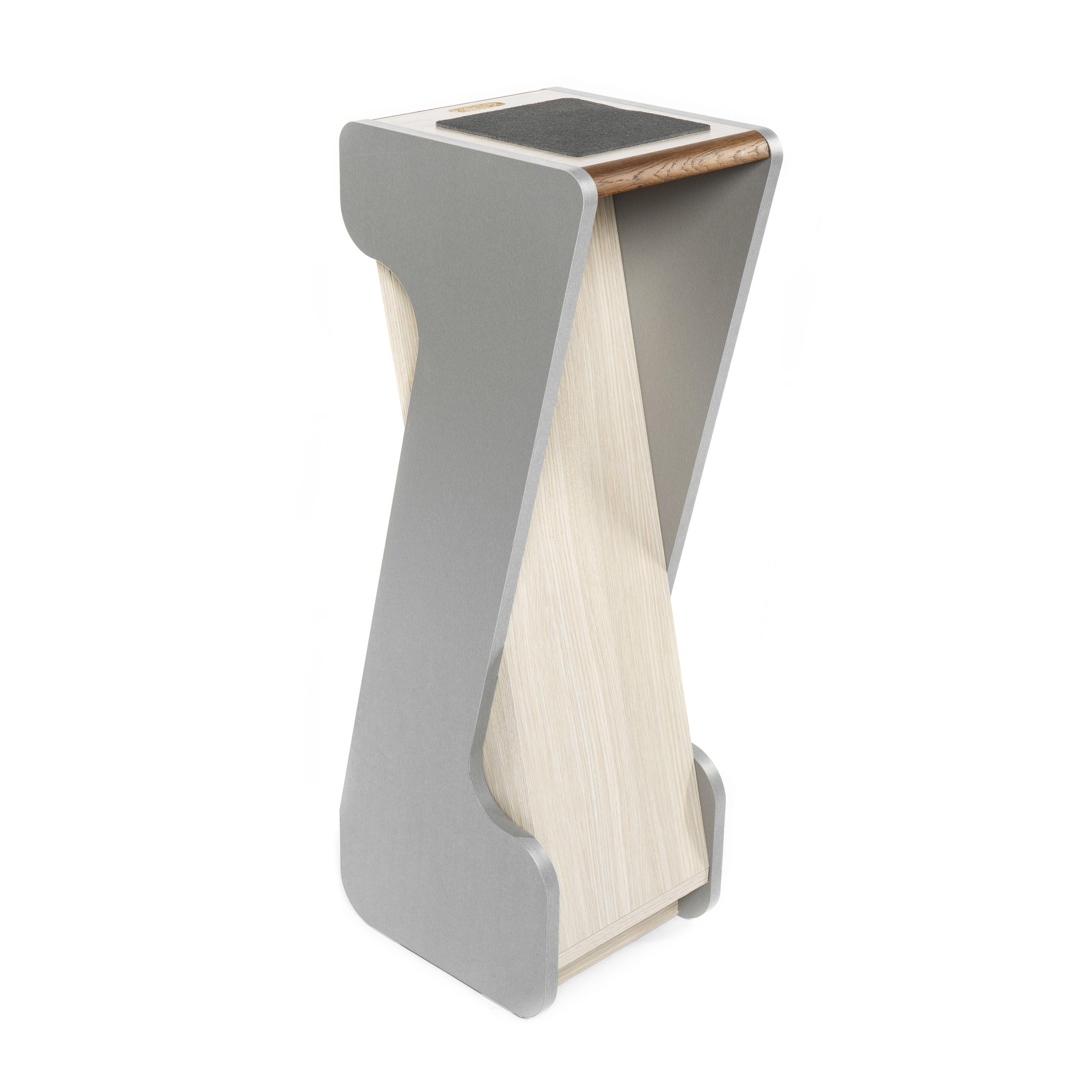 Zaor - MIZA Stand 90 cm Titanium Eiche, Stückpreis