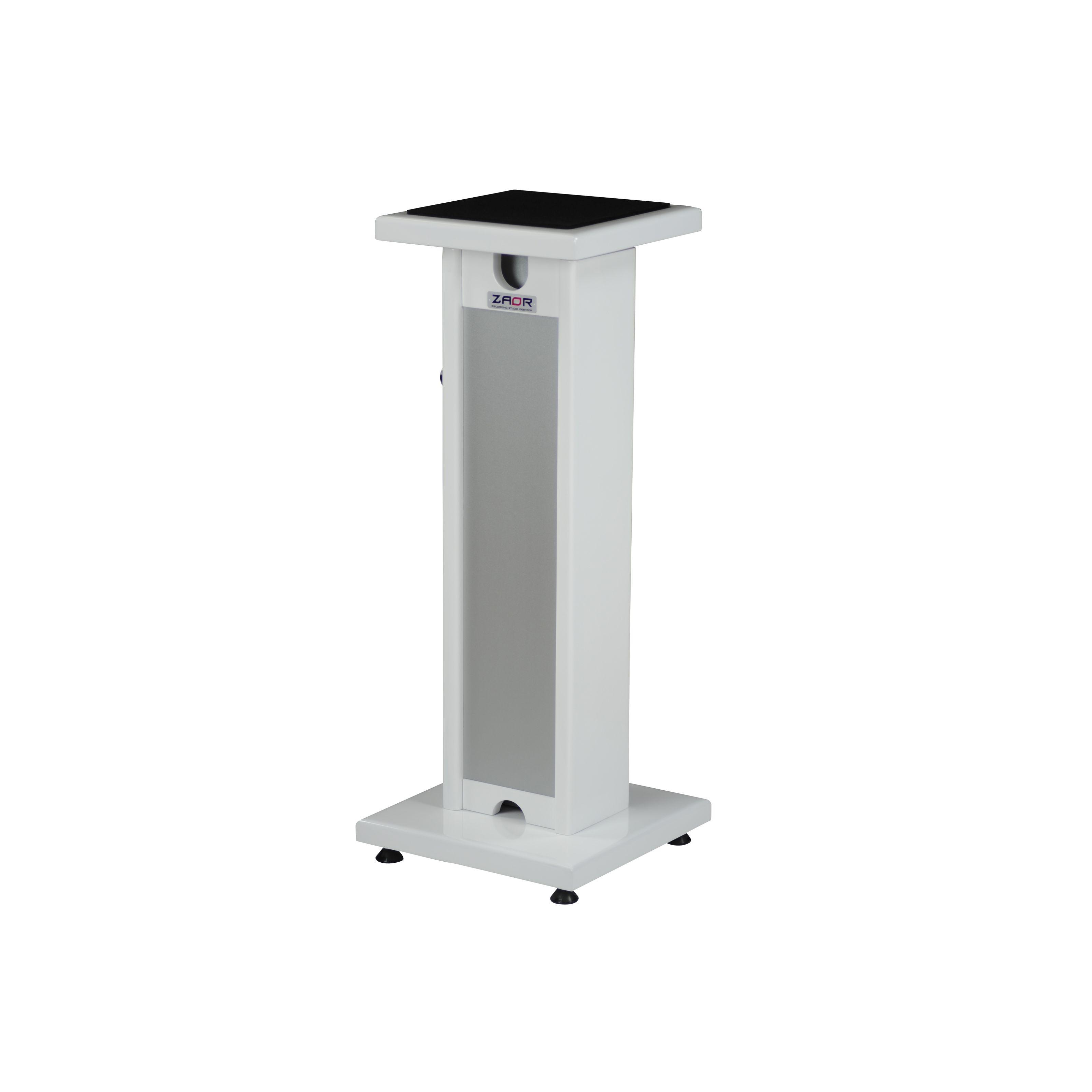 Zaor - Stand Monitor White Gloss / Grey SM-CLA-WG-T
