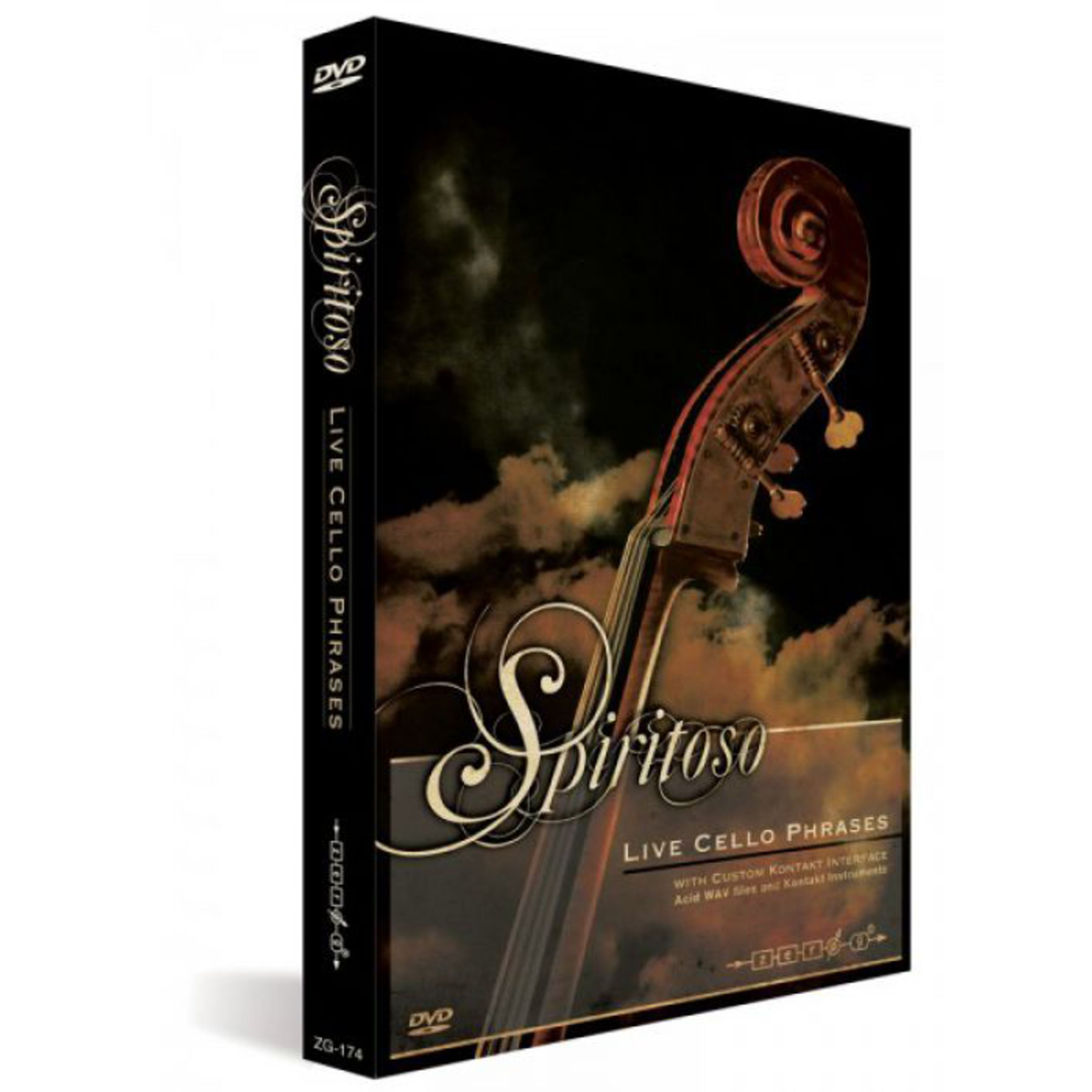 Zero G - Spiritoso Live Cello Phrases SPIR-326