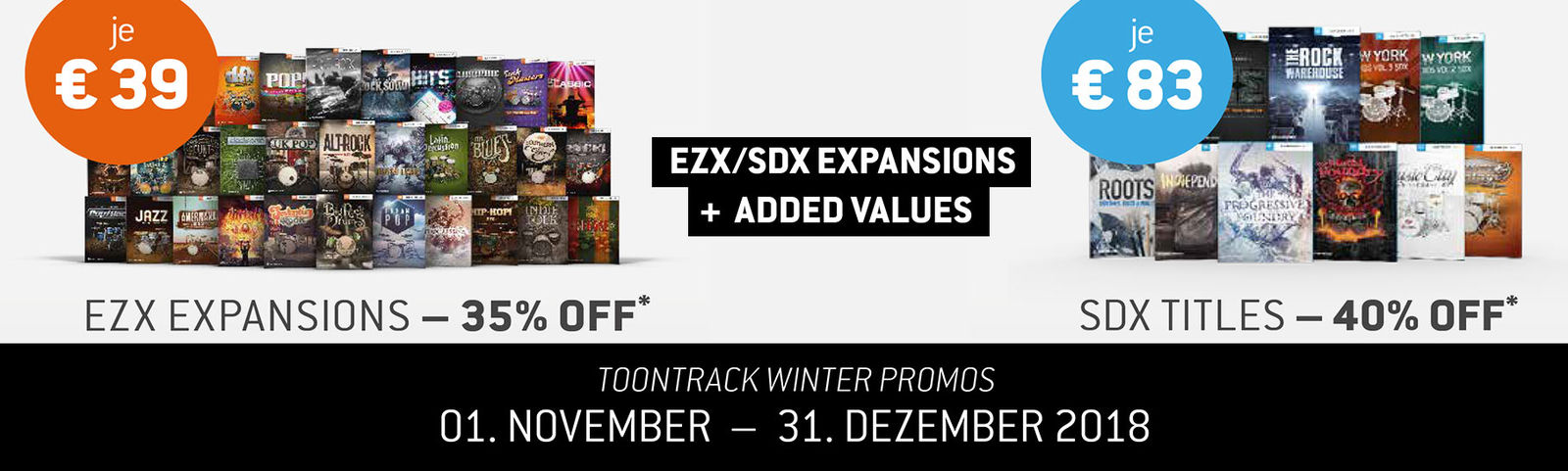 Toontrack Winter-Promo 2018