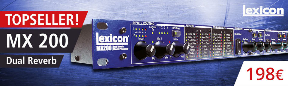 Lexicon MX 200 Dual Reverb/Effect Processor