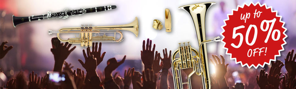 Wind Instruments Special Deals