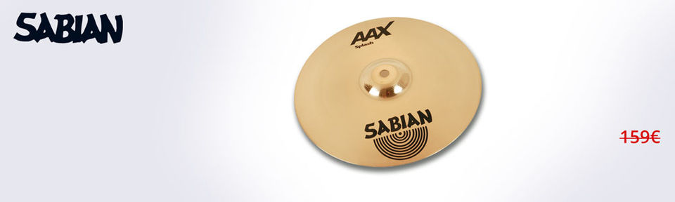 Sabian AAX Splash 12