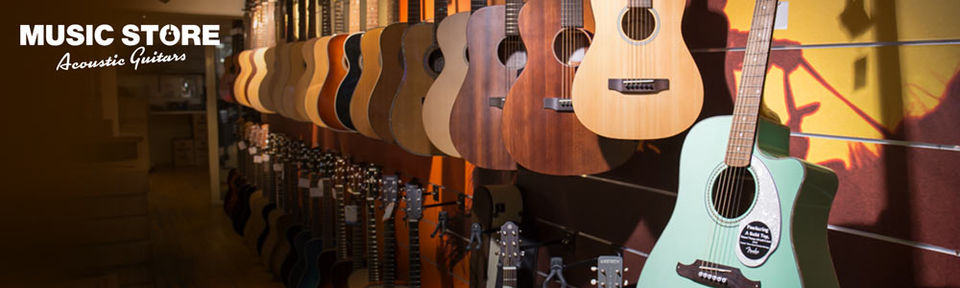 MUSIC STORE Acoustic Guitars