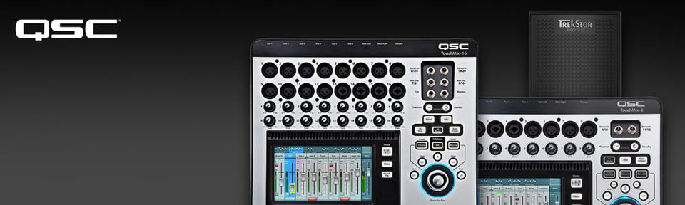 QSC TouchMix with FREE SSD