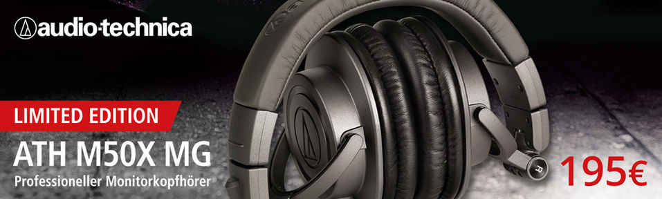 Audio-Technica ATH M50X MG Limited Edition