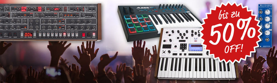 Synthesizer Special Deals