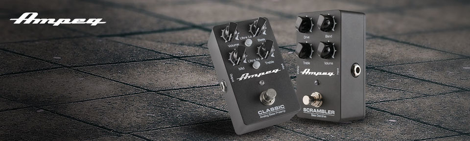 Ampeg Effect Pedals