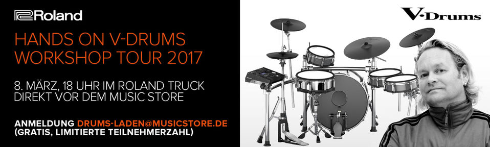 Roland V-Drums Workshop Tour