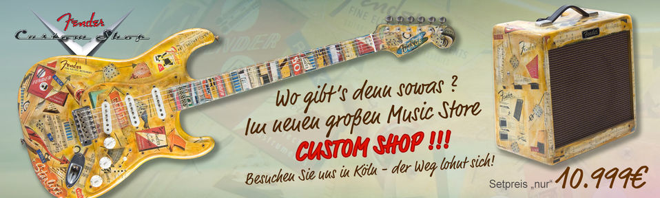 Fender Custom Shop 1956 Memorabilia Set, Stratocaster + Pro Junior - Masterbuilt C.W. Flemming