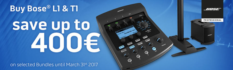 Bose - save up to 400€