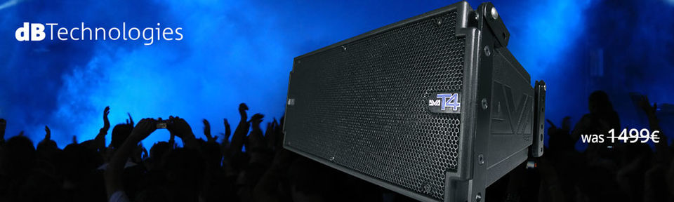dB Technologies DVA T4 Line Array