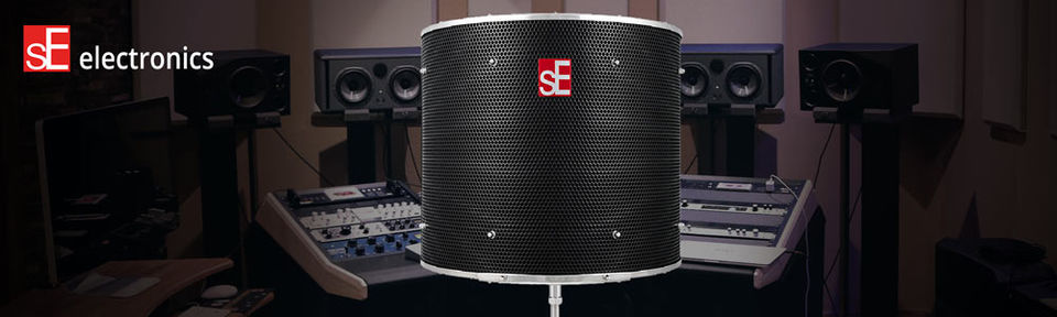 SE electronics Reflexion Filter Pro Black