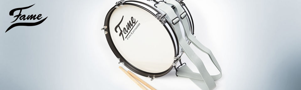 Fame Junior Marching Bass Drum