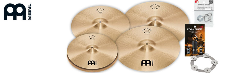 Meinl Pure Alloy Cymbal Set