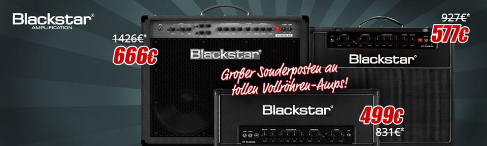 Blackstar Amps - Special Deal