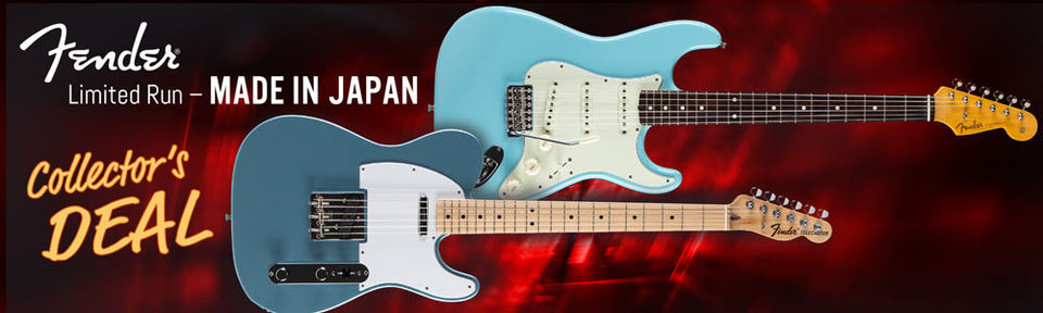 Fender Japan Strato-/Telecaster - Exclusive