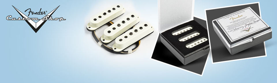 Fender Custom Shop Josefina Hand Wound Fat '50s Stratocaster Pickups