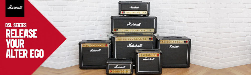 Marshall DSL-Serie - Direkt ab Lager lieferbar!