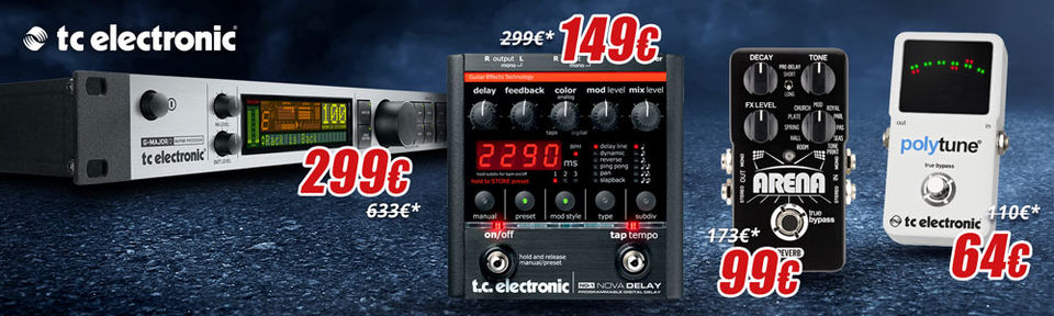 TC Electronic Effects - DEAL!