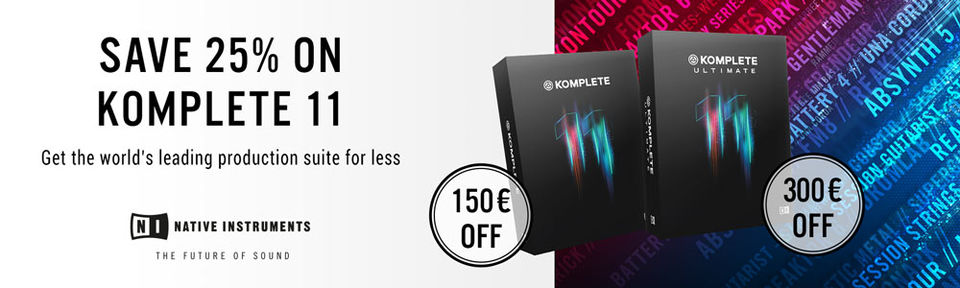 Native Instruments - KOMPLETE 11 Blowout