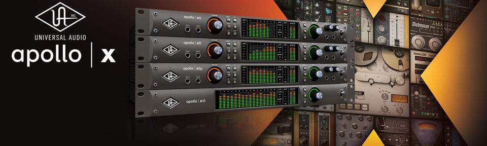 Universal Audio Apollo X Series