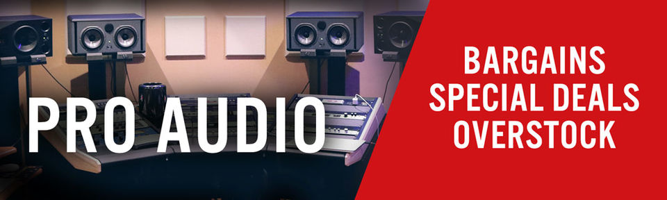 Pro Audio - Deals, Deals, Deals